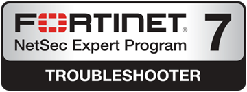 Fortinet NSE 7 Certified
